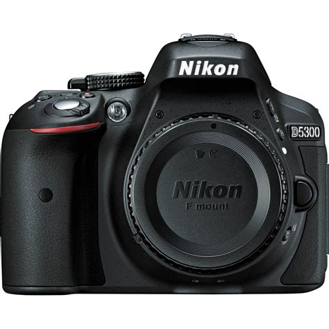 nikon  dslr camera body  black  bh photo