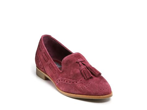 oxford loafer dolce vita dv marcel suede oxford loafers in brown taupe