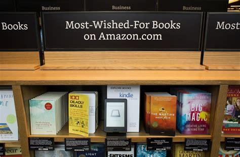 amazon books amazon books see inside amazon s new bookstore time