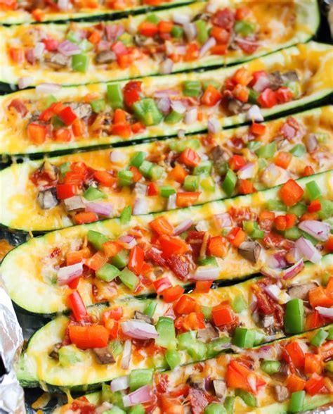 pepperoni stuffed zucchini boats pizza stuffed zucchini boats smile sandwich