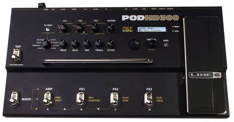 Line 6 POD HD300 image (#608318) - Audiofanzine Line 6 Pod Pro