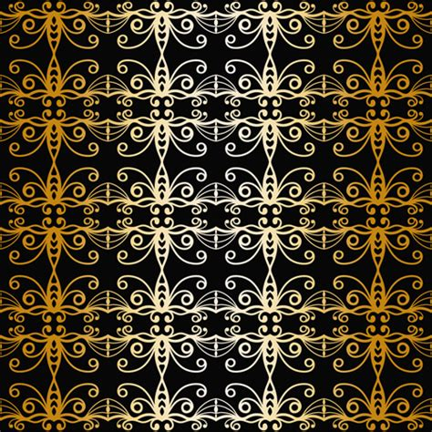 gold pattern seamless luxurious gold pattern seamless vector background free