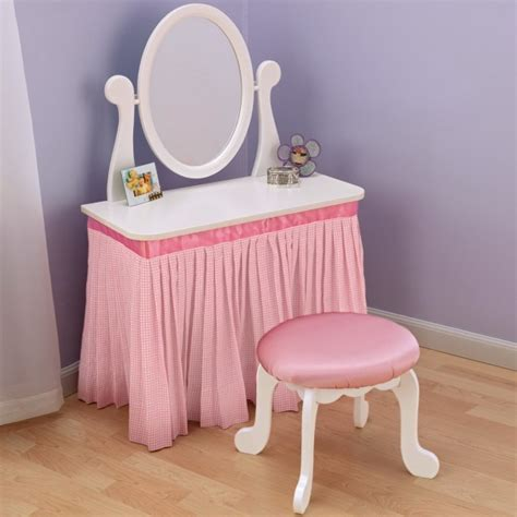 princess makeup table and chair childrens vanity princess vanity u0026 stool picture