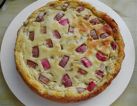 kuchen eierlikör rhabarber quark kuchen rezept mit bild