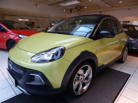 opel green opel adam rocks mojito green metallic