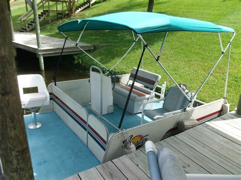used rettey pontoon boats for sale rettey custom built 8 x 12 2003 for sale for 9 995