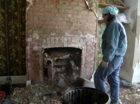 removing old fireplace 4 youtube
