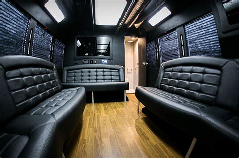 Limousine Interior by Executive Limo From Jmi Limousine In Portland Oregon