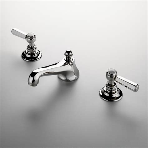 astoria three deck mounted lavatory faucet