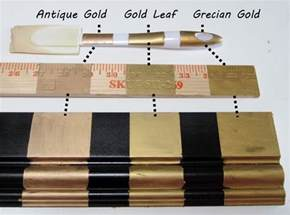 rub and buff colors three golds comparing rub n buff s gold finishes the