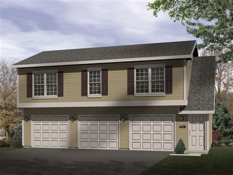three car garage with apartment sidney large apartment garage plan 058d 0137 house plans