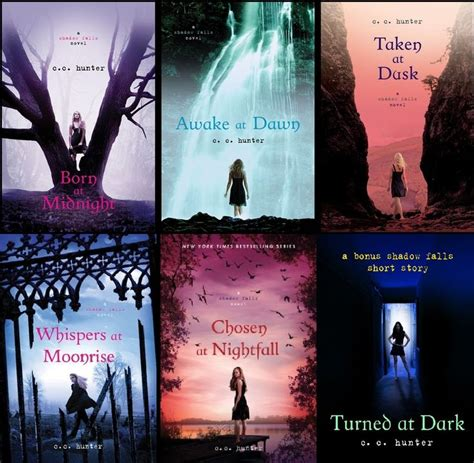 book series shadow falls book series born at midnight saga my