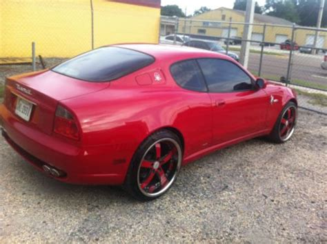 2004 maserati coupe gt buy used 2004 maserati coupe gt coupe 2 door 4 2l in
