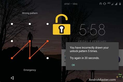 android pattern unlock forgot 8 simple ways to unlock forgot pattern lock android