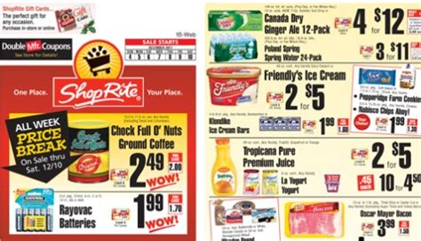 shoprite printable shopping list when technology and rewards developments hit home food