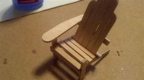 Popsicle Stick Chair by How To Make A Chair With Popsicle Sticks