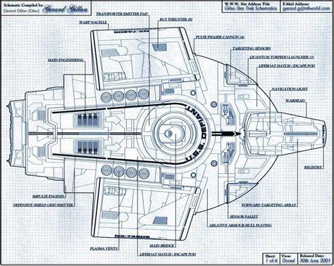 star trek enterprise floor plans top blueprint database star wallpapers