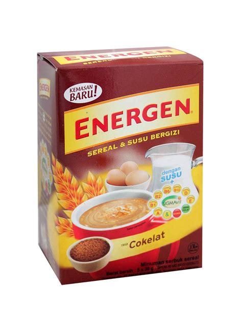 energen cereal instant chocolate box xg klikindomaret