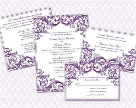 Wedding Invitation Wording 5x7 Wedding Invitation Template 5x7 Wedding Invitation Template