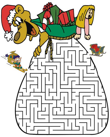 printable holiday mazes free christmas mazes for kids 5 christmas mazes for kids 6