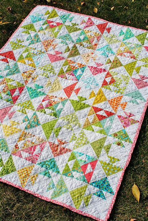 Patterns For Quilts by Fish Baby Quilt By Freshly Pieced Craftsy