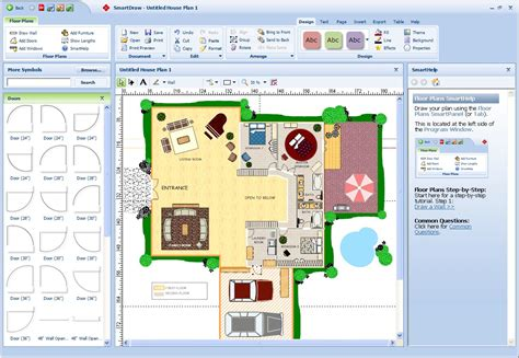 free software for floor plan drawing life short landscaping design schools online