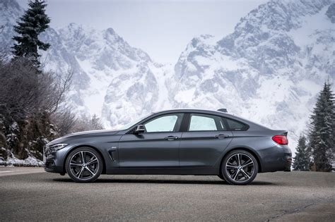 bmw  series gran coupe side profile motortrend