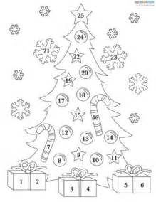 Free Printable Advent Calendar Template by Printable Advent Calendars