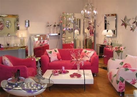 pink living room ideas romantic and sentimental touch with colors