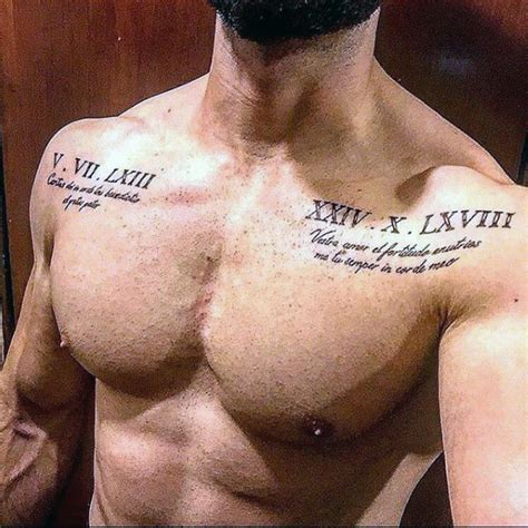 tattoo quotes roman 100 roman numeral tattoos for men manly numerical ink
