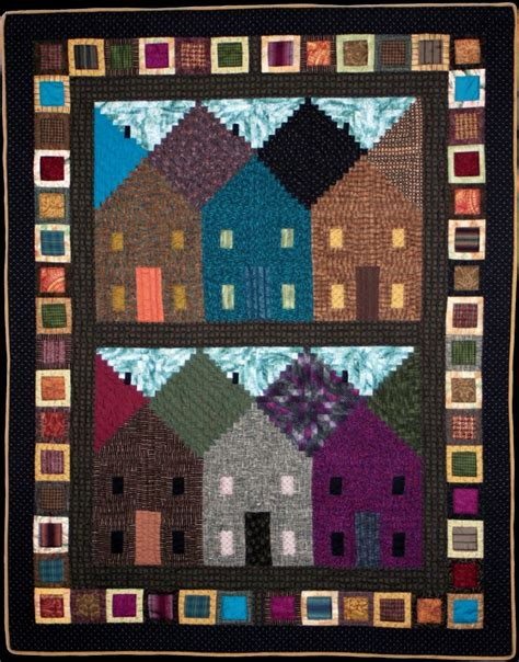 free pattern house quilt free patterns