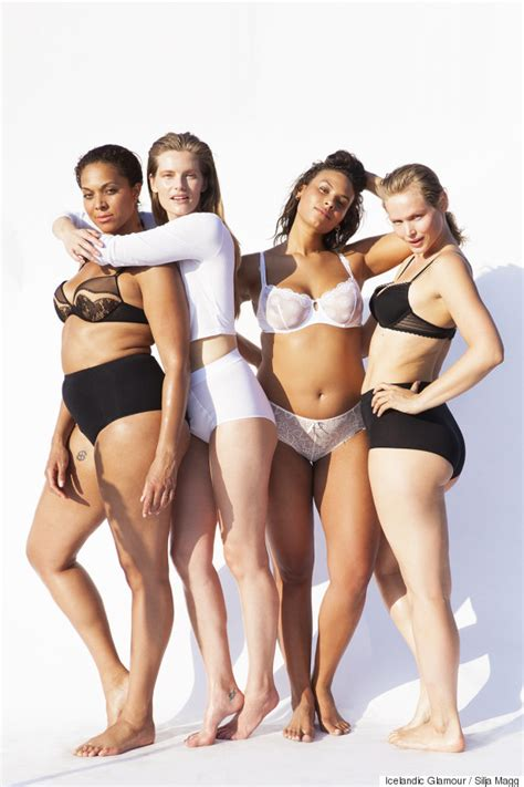 glamour models body measurements models of all sizes strip down in the name of body