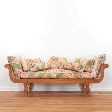 anglo indian carved hardwood sofa