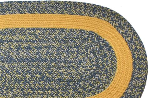 yellow braided rug williamsburg blue yellow yellow band braided rug