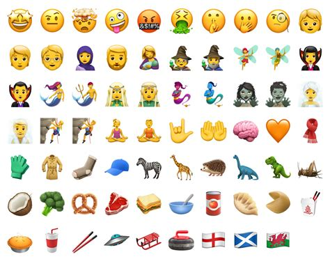 apple ios 11 1 emoji list