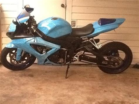 Suzuki Cbr 600 For Sale 2007 Suzuki Gsxr 600 Stretched Cbr For Sale On