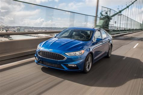 ford fusion awd 2017 ford fusion sport ecoboost awd test motor trend