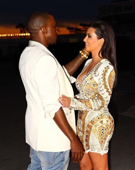 Kim Kardashian, Kanye West The Hollywood Gossip