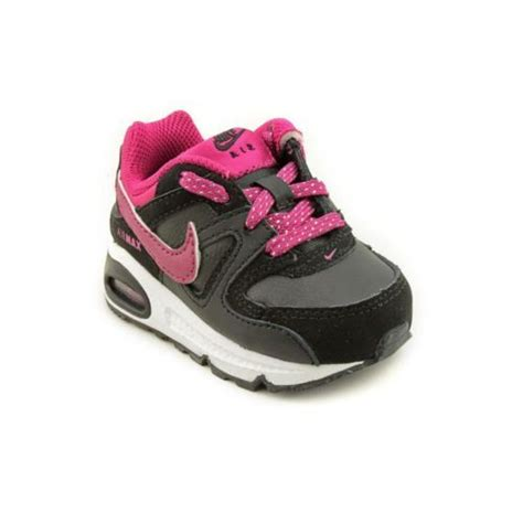 air baby shoes nike air max command td infant baby size 4 black