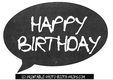 happy birthday photo booth props printable free printable birthday party photo booth props