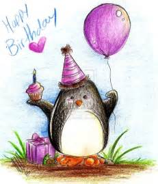 happy birthday debbie from your penguin friend i wish