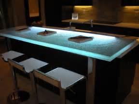 Raised glass bar top bar cbd glass