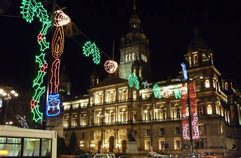 christmas lights ceremony in george square cancelled