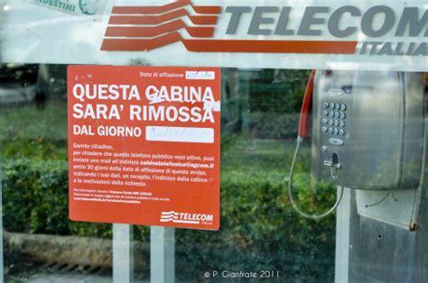 telecom cabine telefoniche cabine telefoniche