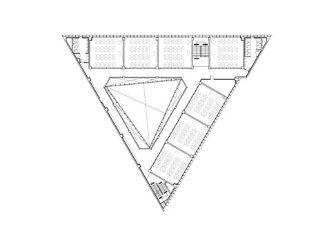 triangle floor plan gallery of dh triangle school nameless architecture 29