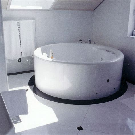 bathroom in white sivec marble and black granite new