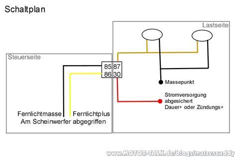 Schaltung Zusatzscheinwerfer Motorrad by Zus 228 Tzliche Fernscheinwerfer Auf Dem Dach Matzescaddy