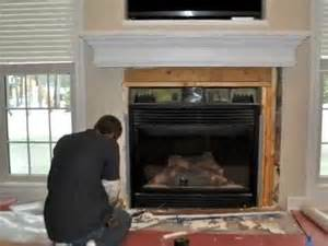 How To Tile Fireplace by How To Tile A Fireplace Tiling Marble