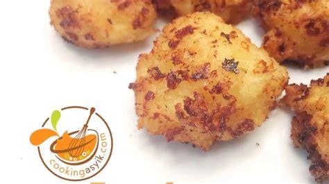 cara membuat kentang goreng keju oven resep cara membuat tape goreng keju youtube
