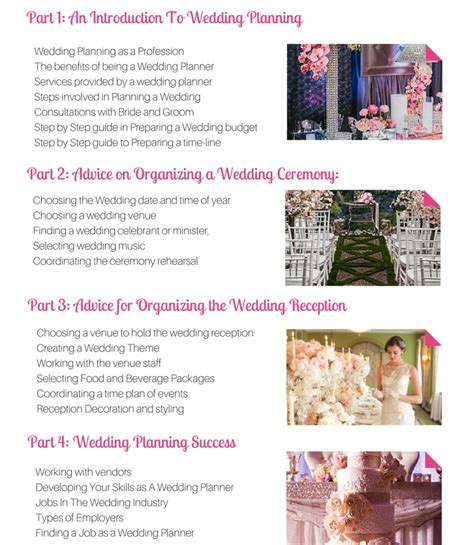 australia s best wedding planning course the wedding